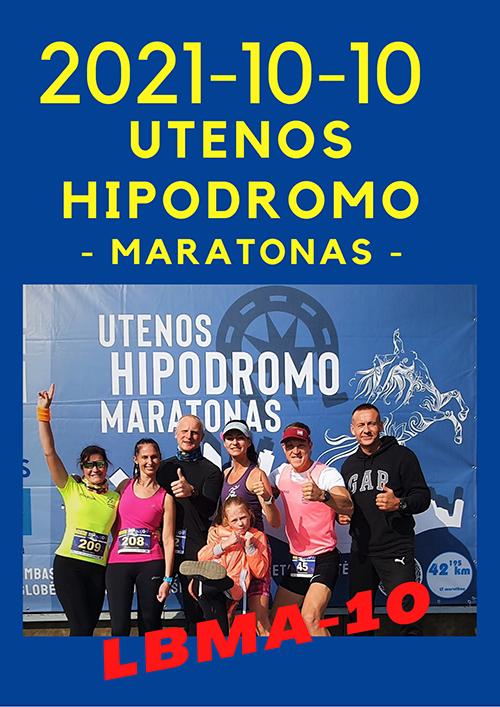 Utenos Hipodromo maratonas 2021
