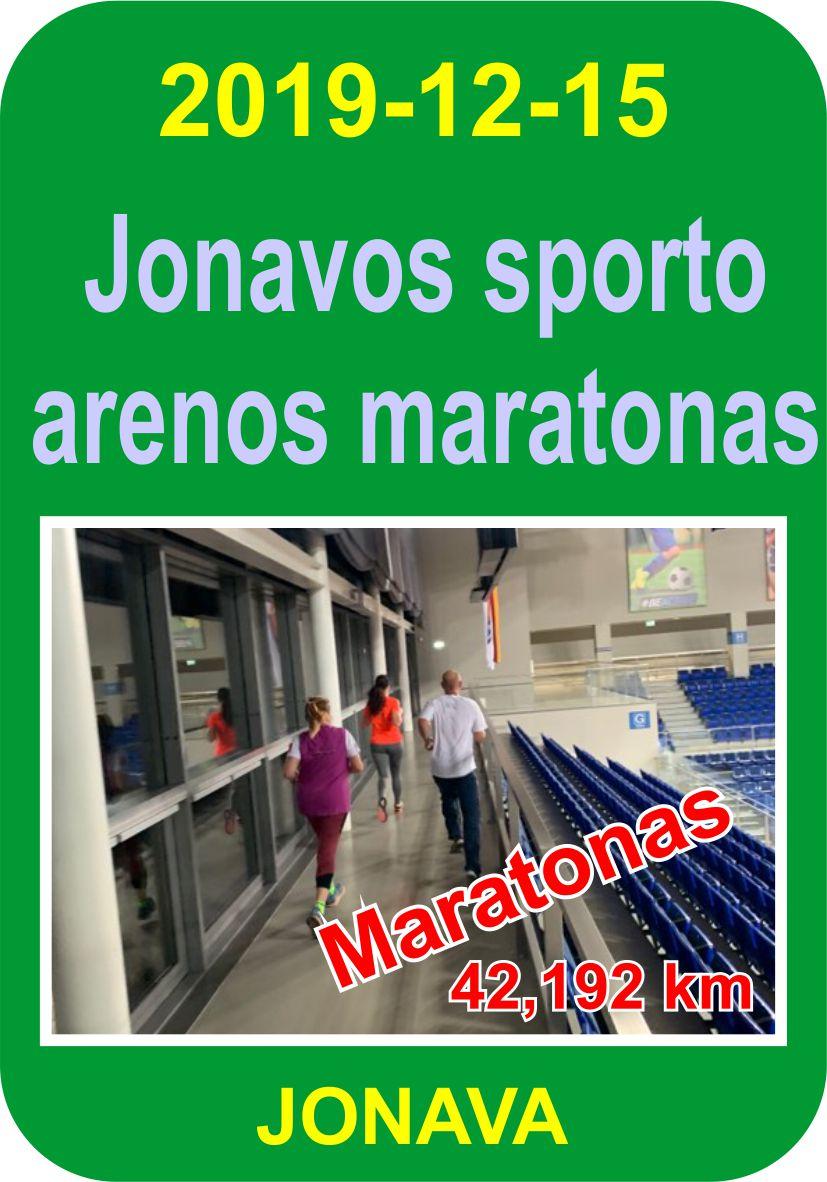 Jonavos sporto arenos maratonas