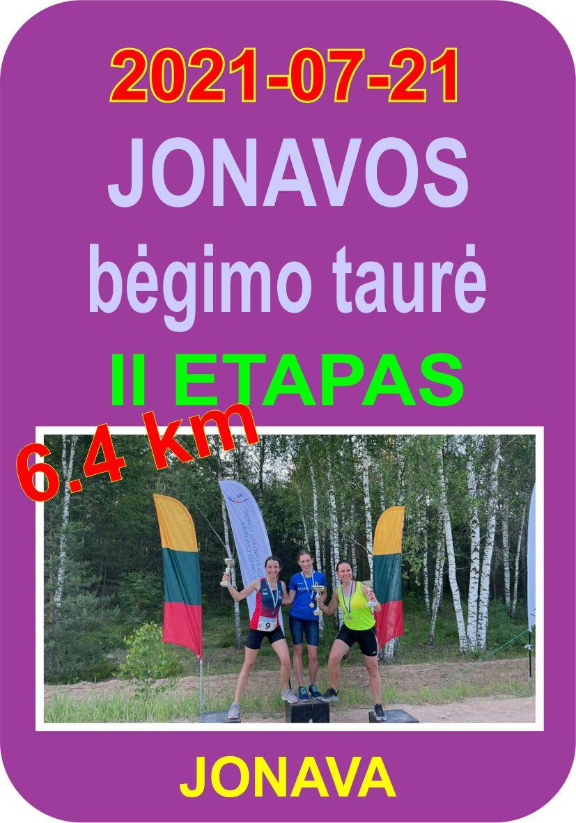 Jonavos bėgimo taurė 2021