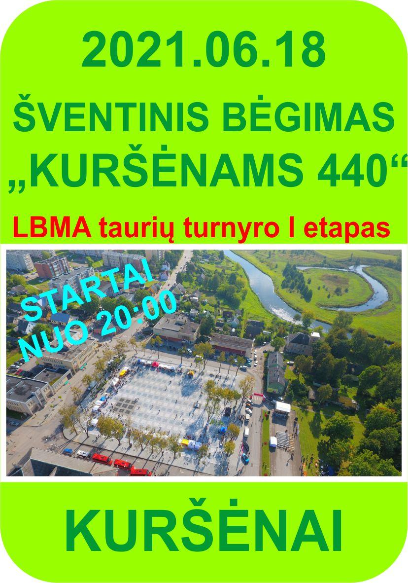 Kuršėnams - 440