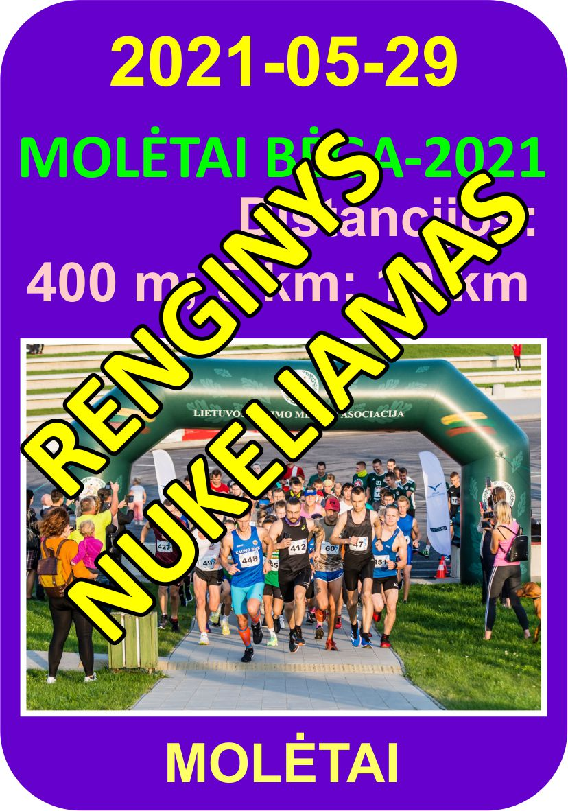 Molėtai bėga - 2021