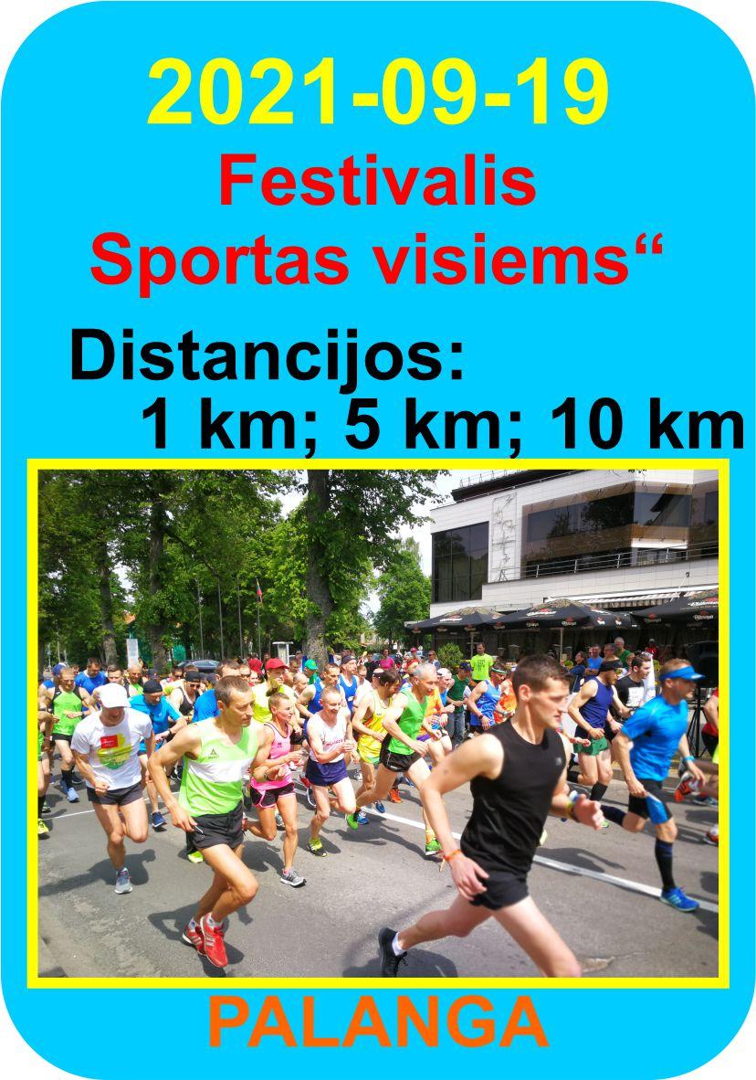 "Festivalis ""Sportas visiems"""