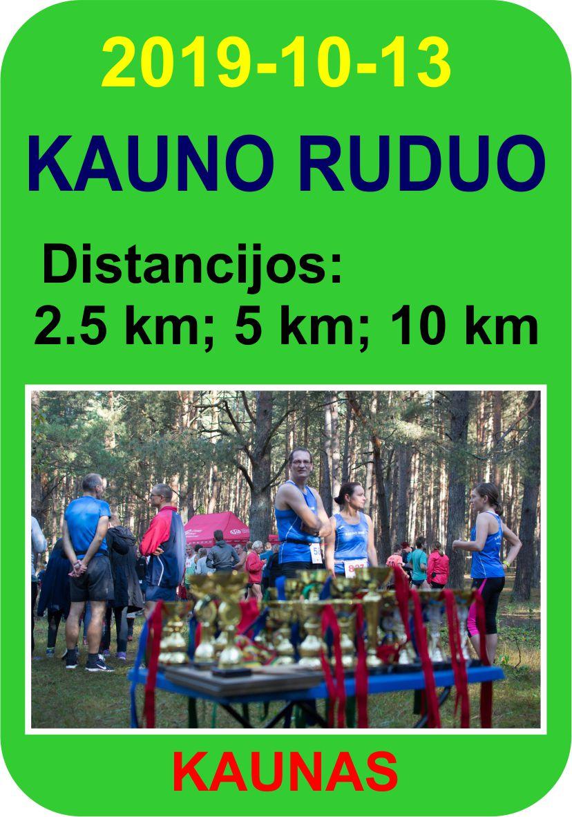 Kauno ruduo – 2019