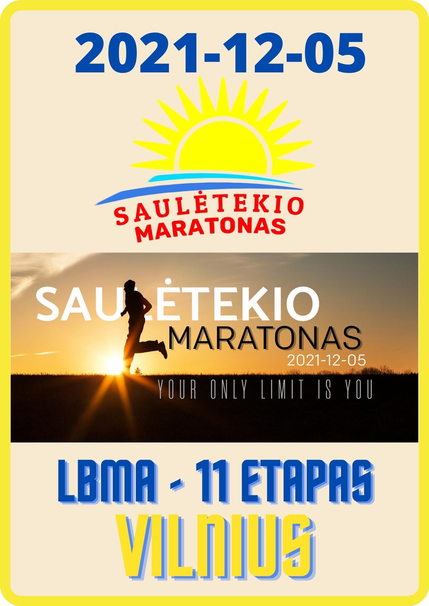 III-iasis Saulėtekio maratonas