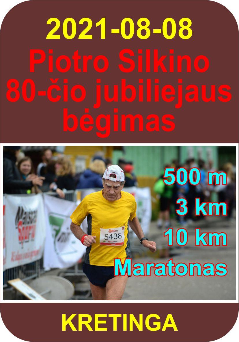 Piotro Silkino 80-čio jubiliejaus bėgimas