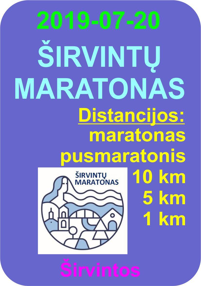 I-asis Širvintų maratonas