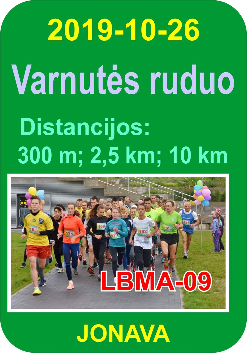 Varnutės bėgimas 2019