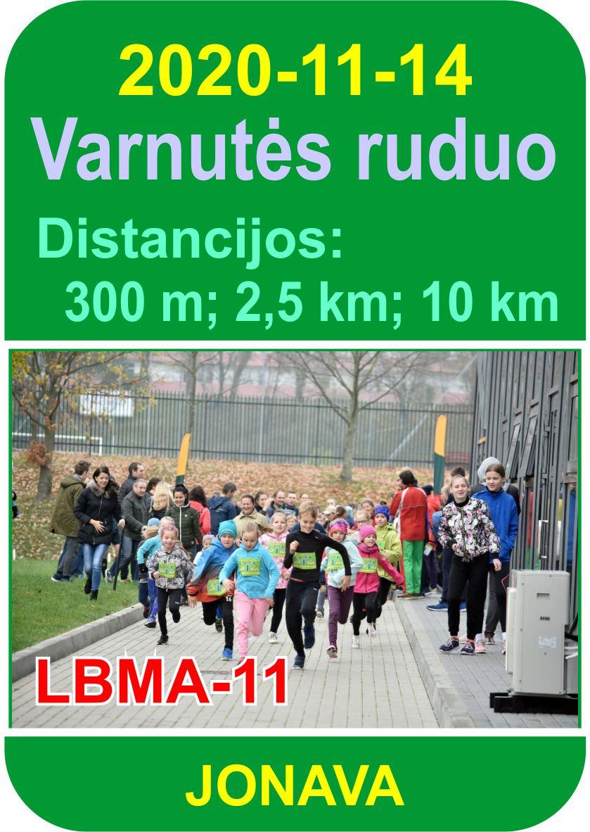 Varnutės bėgimas 201209