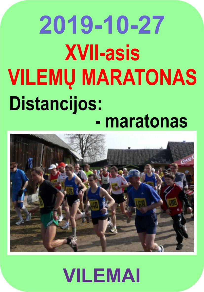 XVII-asis Vilemų maratonas