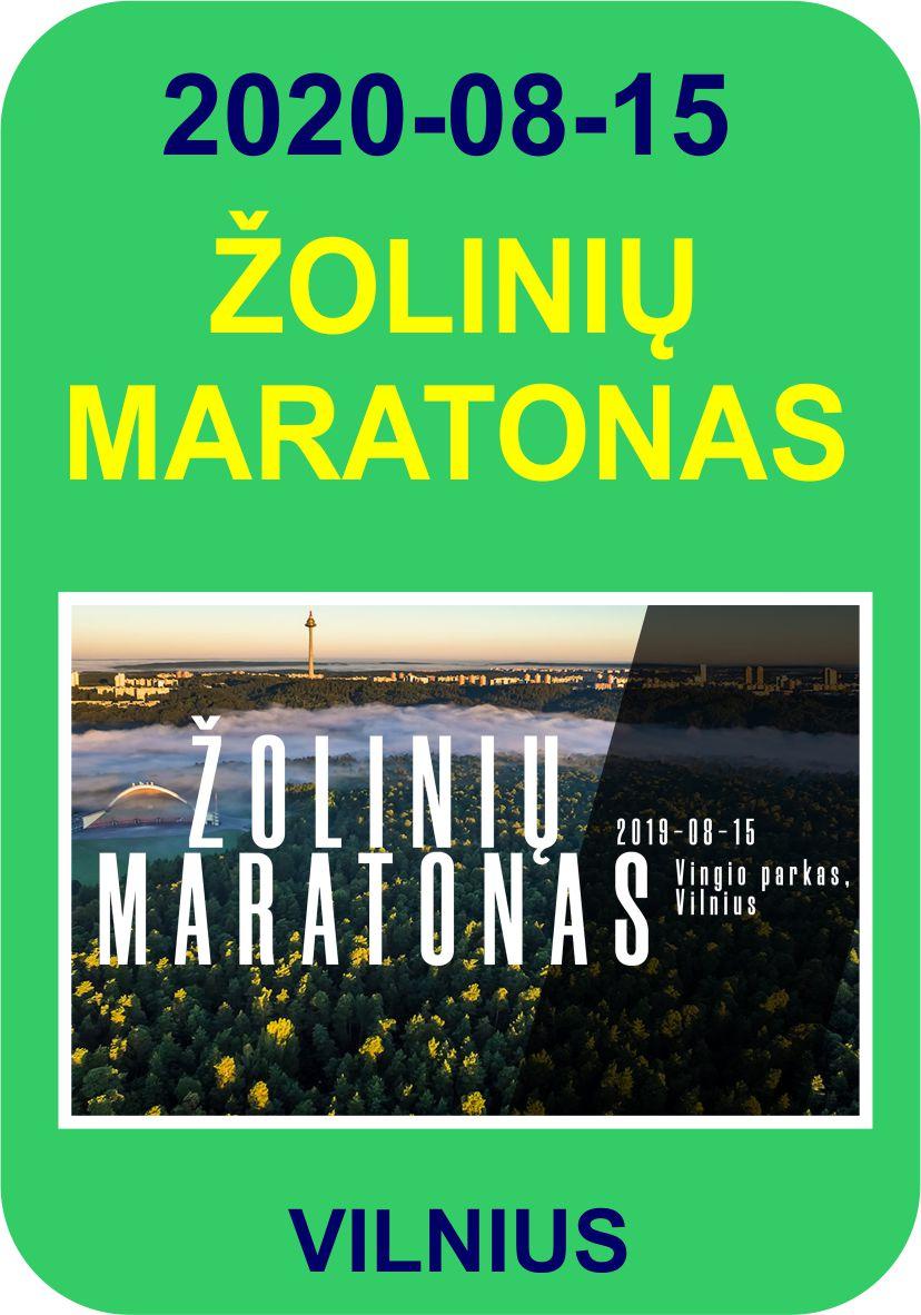 II-asis Žolinių maratonas