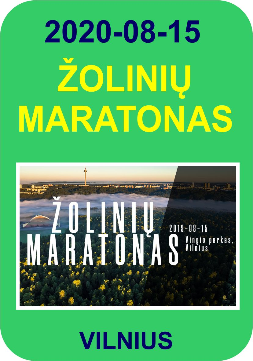 II-asis Žolinių maratona